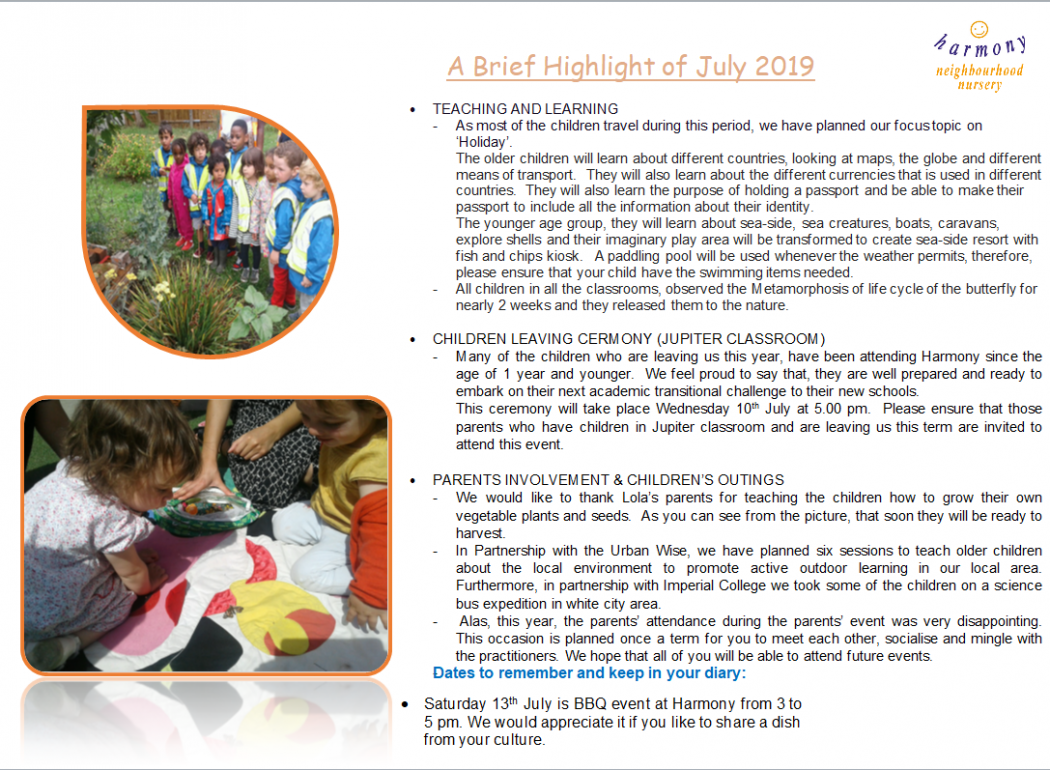 Monthly News Brief July 2019