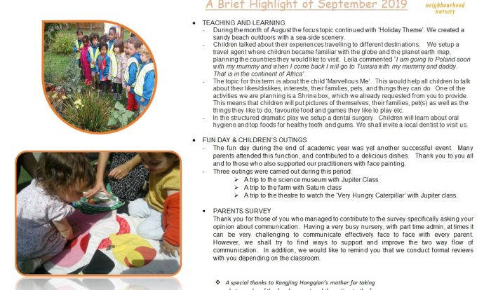 Monthly News Brief September 2019